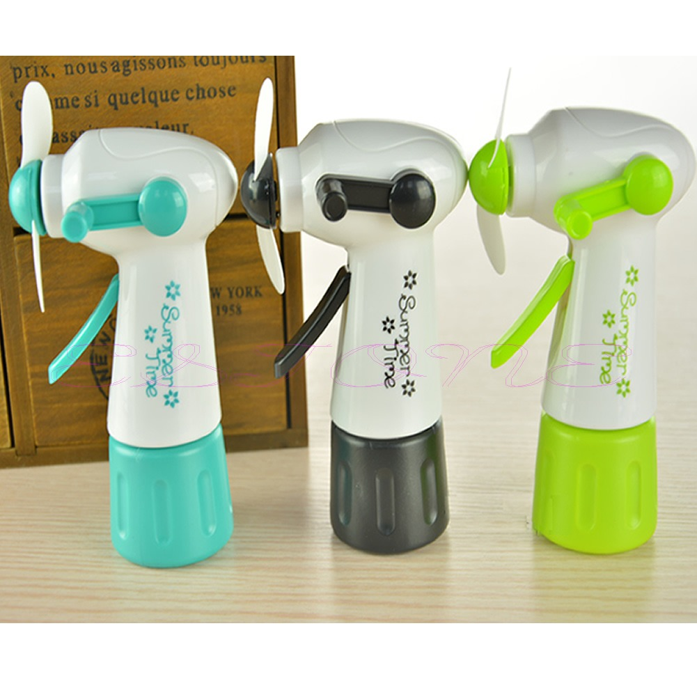 Mist Fan Bottle : New portable handheld cooling water spray mist fan