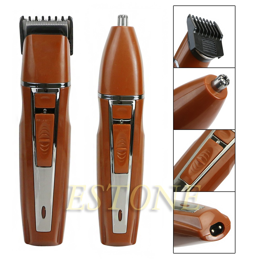 professional men 39 s electric shaver razor beard nose hair clipper trimmer barber ebay. Black Bedroom Furniture Sets. Home Design Ideas