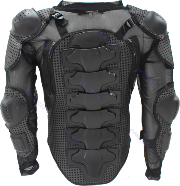 Racing Motorcycle Body Armor Spine Chest Protective Jacket