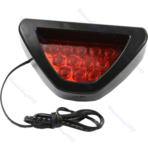 rear tail brake stop light taillight red strobe safety fog. Black Bedroom Furniture Sets. Home Design Ideas