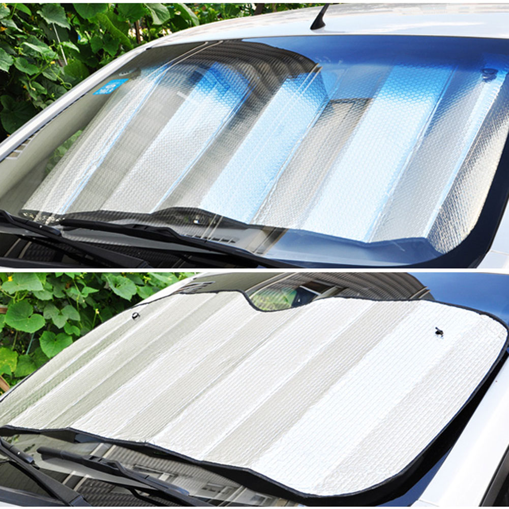 Aluminum Foil Windows : Double thick aluminium foil sun shade sunblock car window