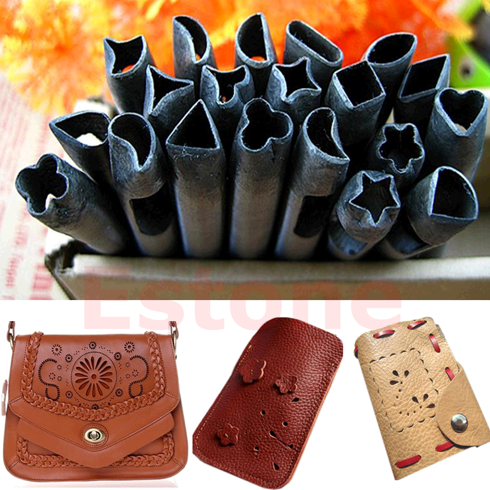 Tooled Leather Patterns 20 Patterns Hole Punch Leather