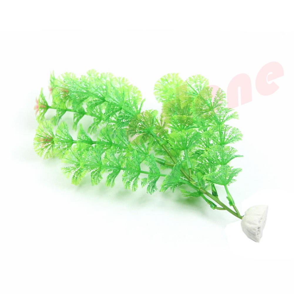 Green aquarium fish tank landscape emulational aquatic for Aquatic decoration