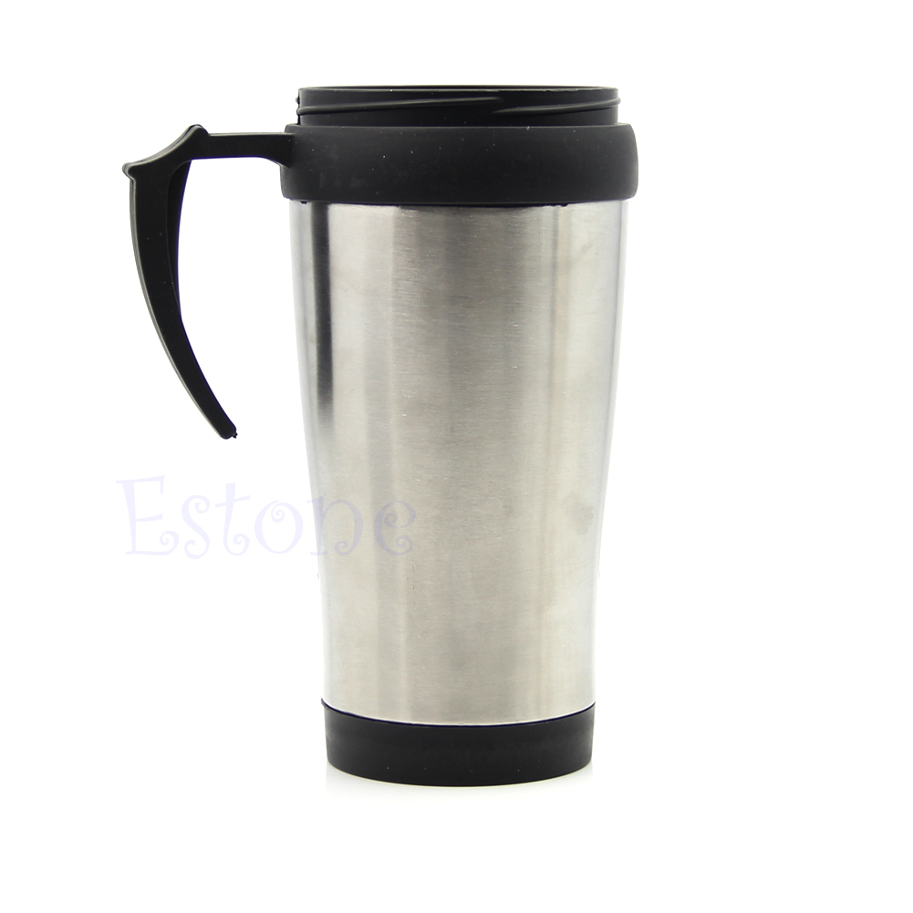500ml stainless steel thermos abs mug travel tumbler. Black Bedroom Furniture Sets. Home Design Ideas