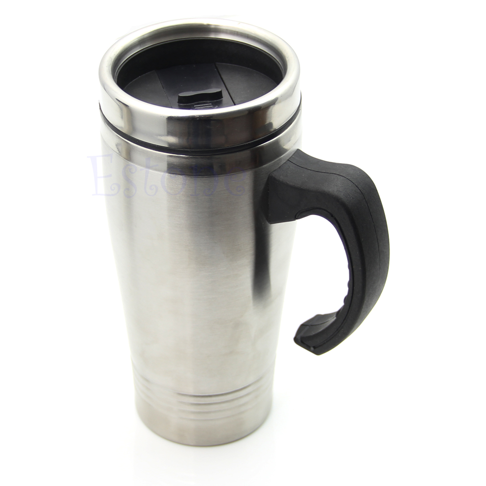 16oz stainless steel portable double wall travel tumbler for Thermos caffe