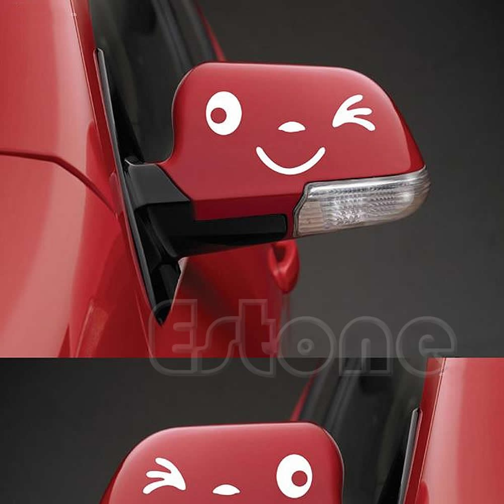 Car side mirror sticker design - Does Not Apply