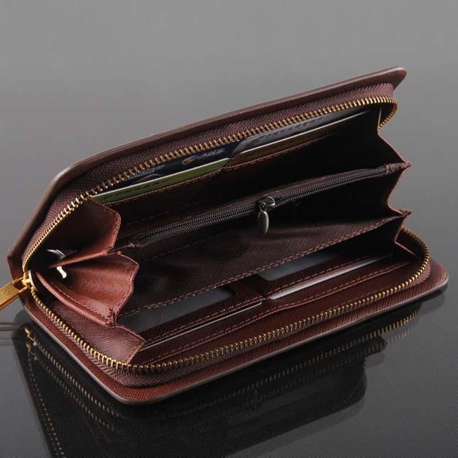 herren leder geldb rse m nner geldbeutel portemonnaie mens wallet purse ebay. Black Bedroom Furniture Sets. Home Design Ideas
