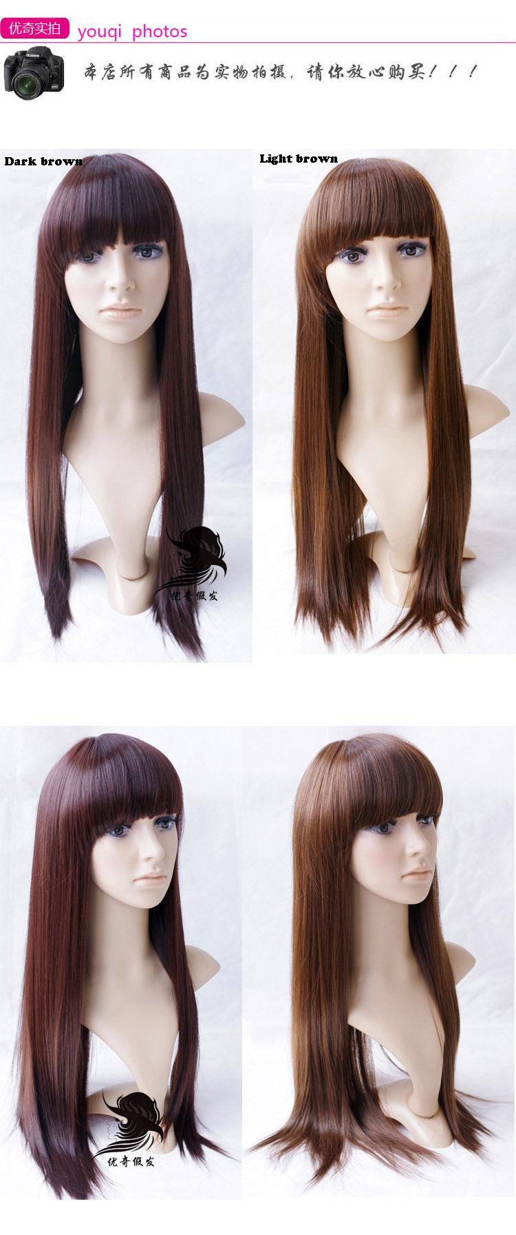 Glattes glattes Haar des geraden sexy Haares