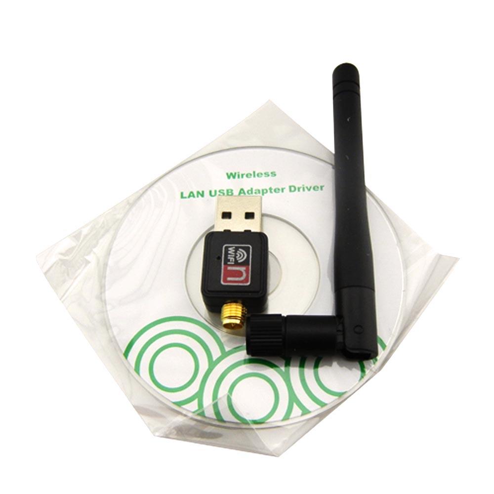 802 11n G B 150Mbps Mini USB WiFi Wireless Adapter Network LAN Card w Antenna