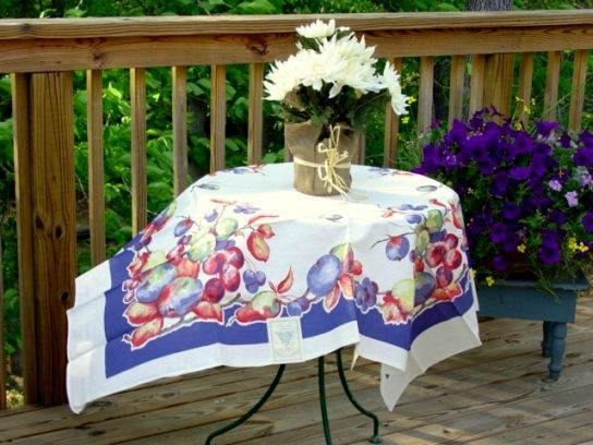 Rare Vintage Tablecloth