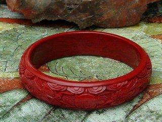 Cinnabar Dragon Bangle