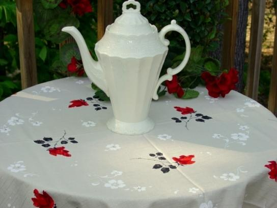 Mint Simetex Tablecloth