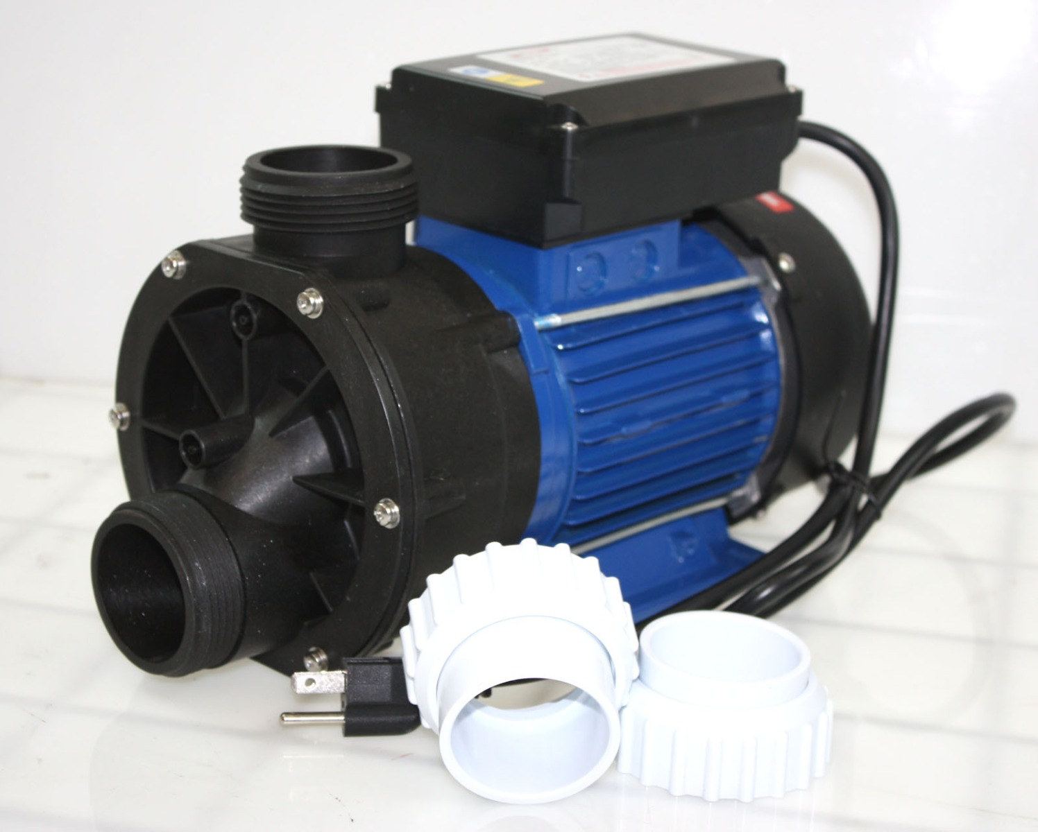 600 watt 3 4 hp 85gpm electric water pump pond spa pool for Pond water pump
