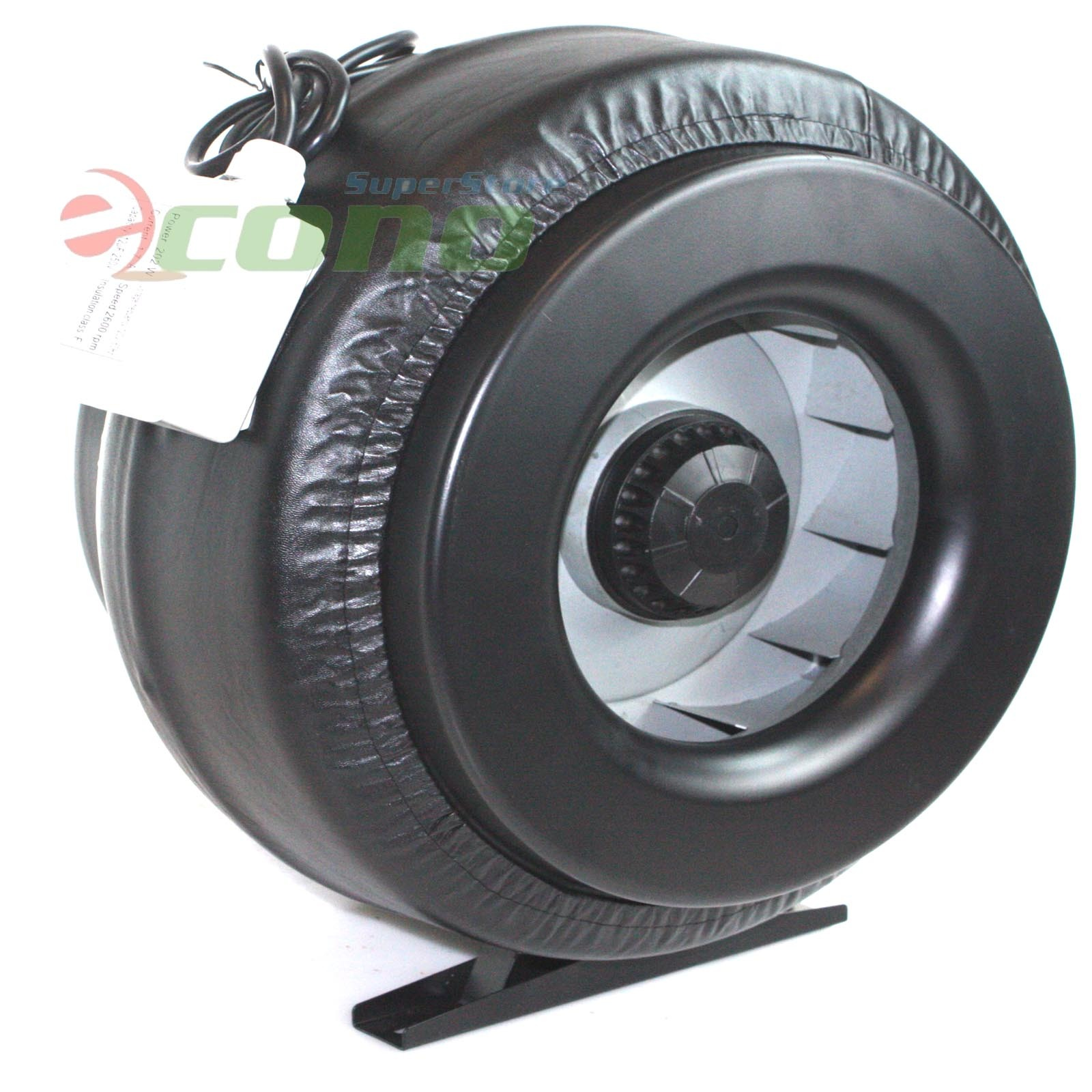 12 Inch Inline Duct Fan Vent Exhaust Air Cooled Hydroponic Fan Blower  #485E40