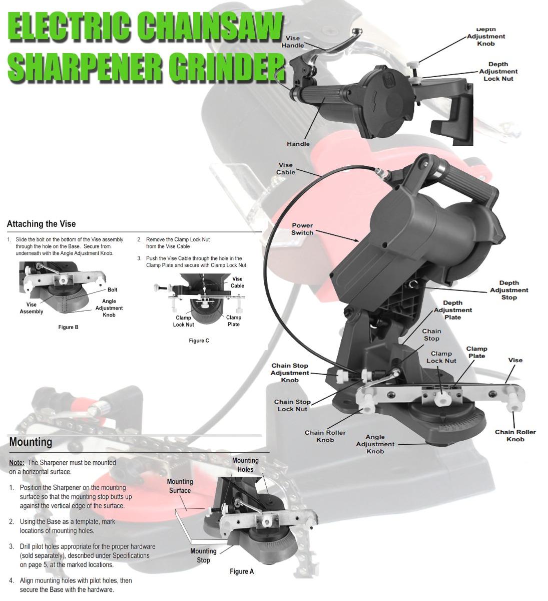Electric chain saw watts