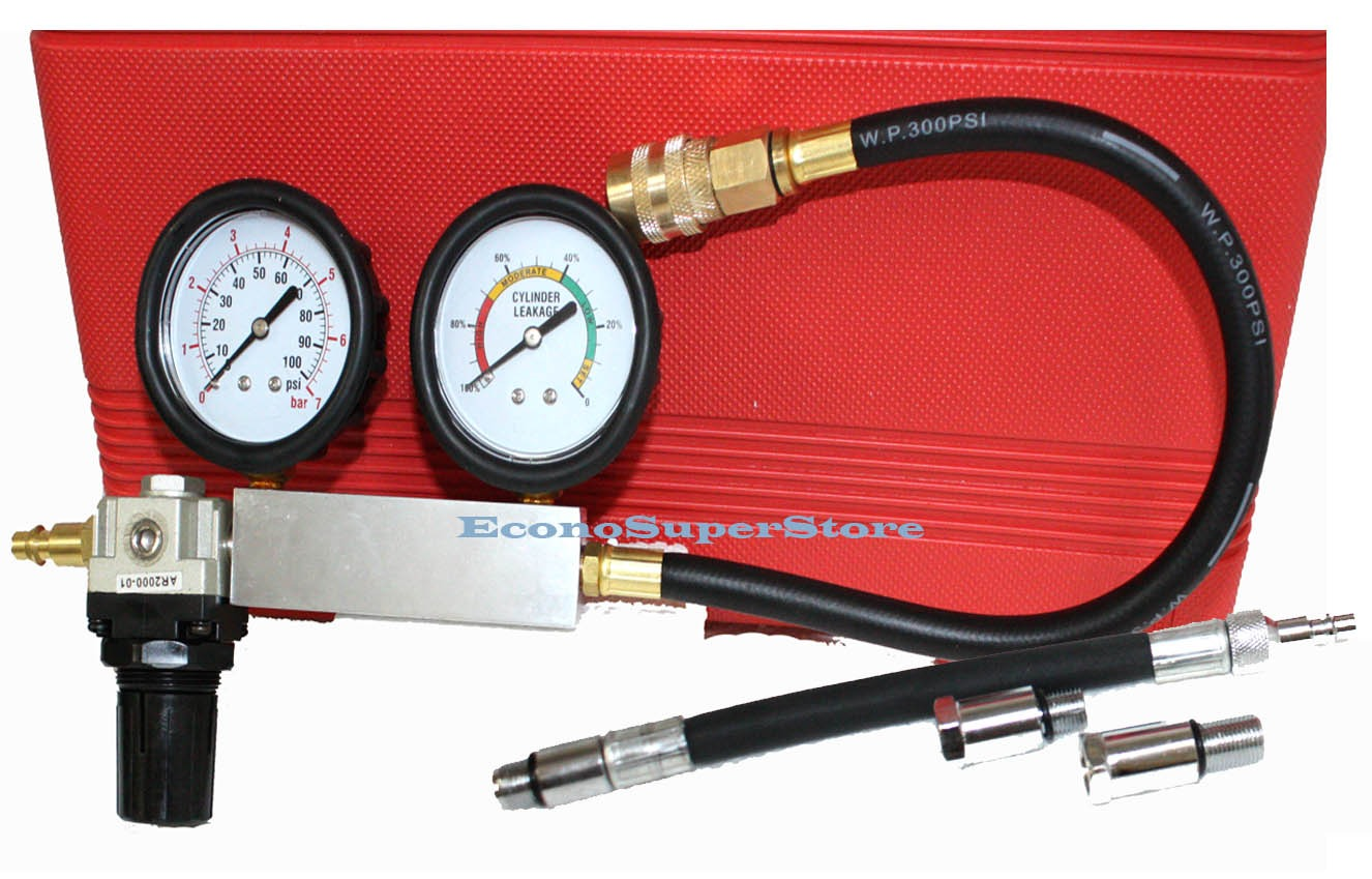 cylinder leak down tester instructions