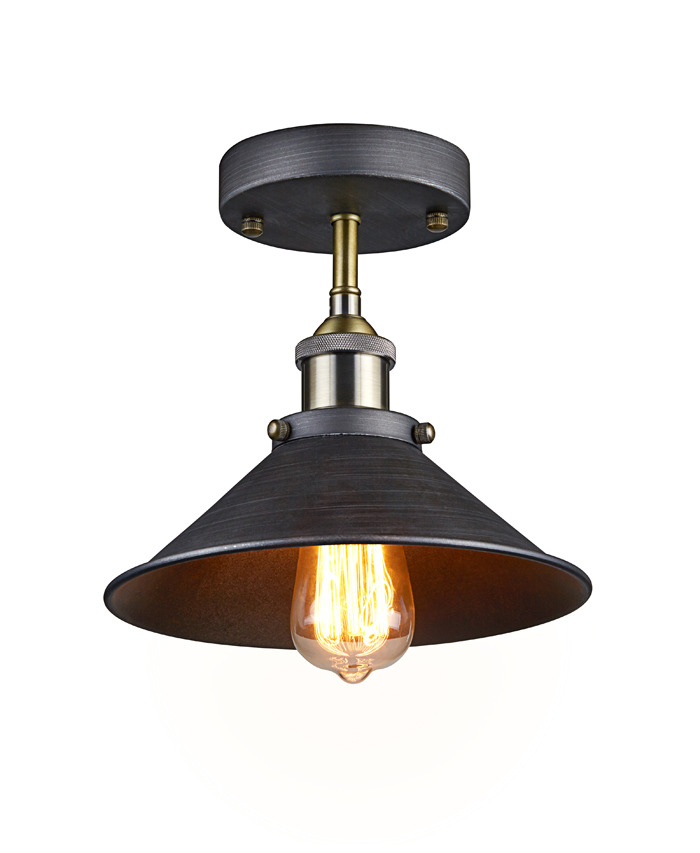 Vintage Industrial Metal Pendant Light Ceiling Lamp Cafe