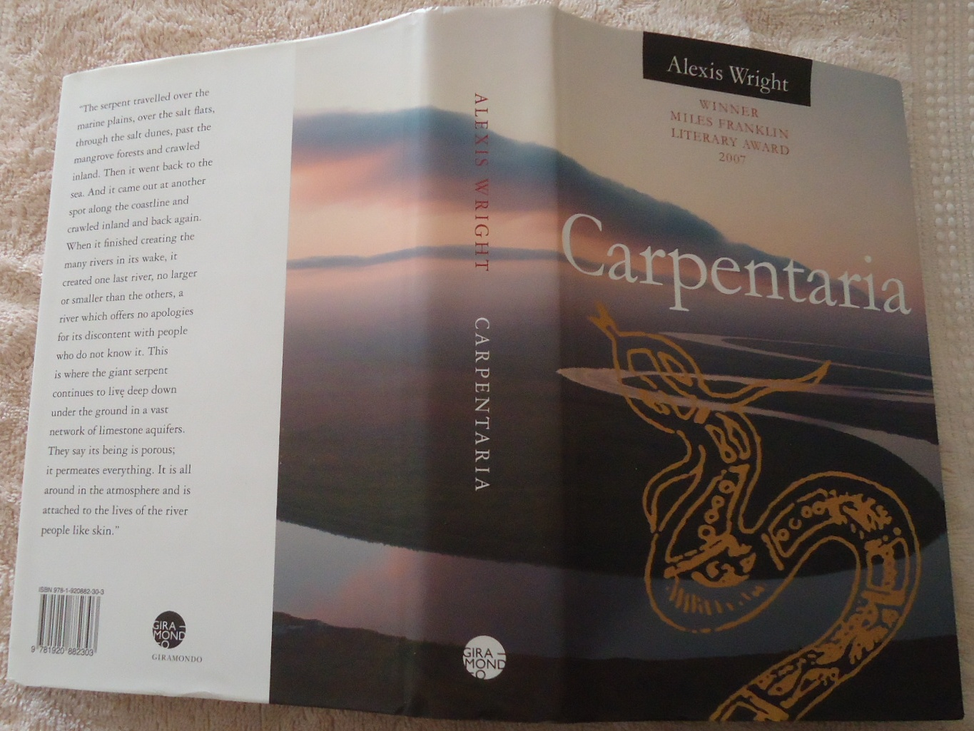 Carpentaria-By-Alexis-Wright-2007-Hardback-Limited-edition-Excellent-condition