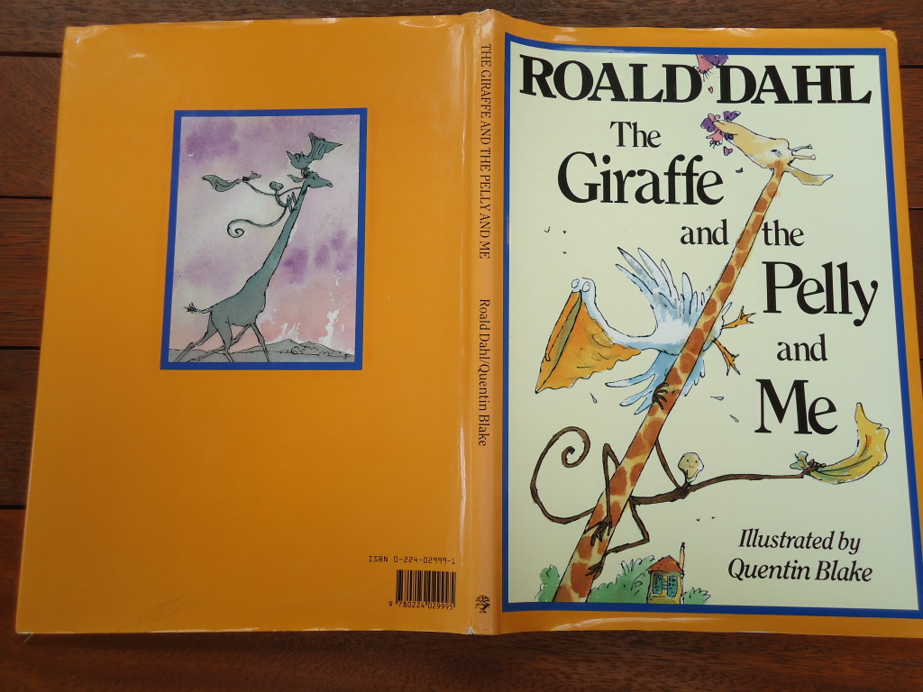 The-Giraffe-and-the-Pelly-and-Me-Roald-Dahl-Hardback-Illustrated-Quentin-Blake