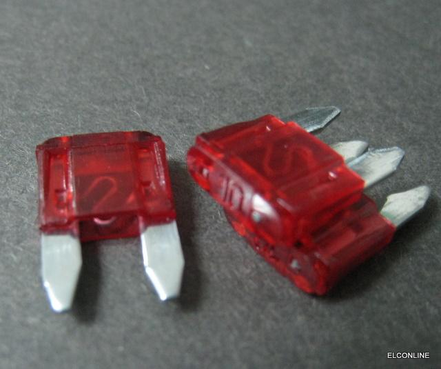 50 Pcs X Atm Auto Mini Blade Fuse 12v 24v Selection 1a