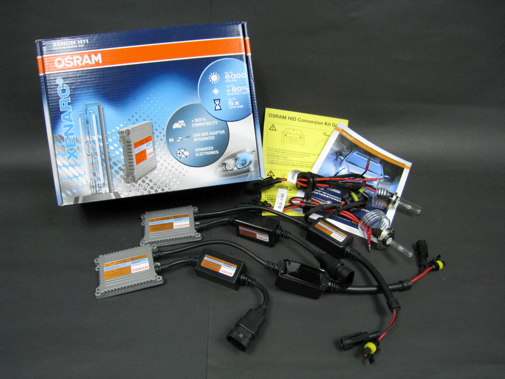 osram hid xenon conversion kit h7 6000k 12v 35w canbus. Black Bedroom Furniture Sets. Home Design Ideas