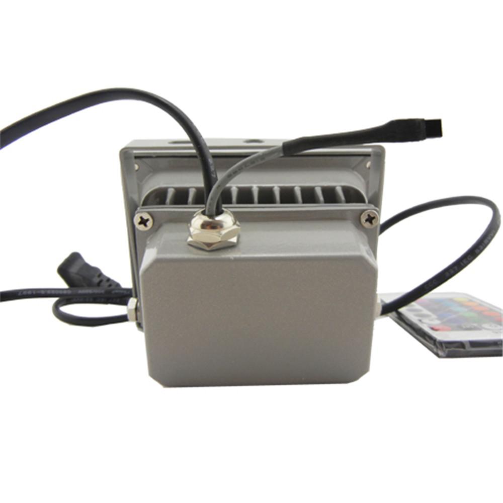 Waterproof Remote Control 10w Rgb Led Outdoor Floodlight Flood Light Lamp 900lm Ebay