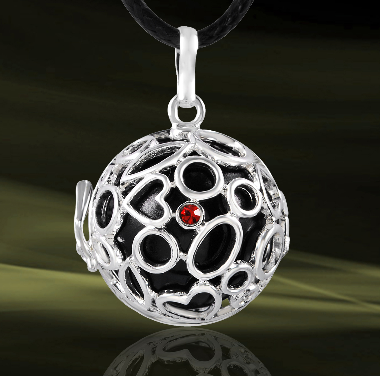 bijoux de grossesse b b musical pendentif boule de cage collier bola h27a08 ebay. Black Bedroom Furniture Sets. Home Design Ideas