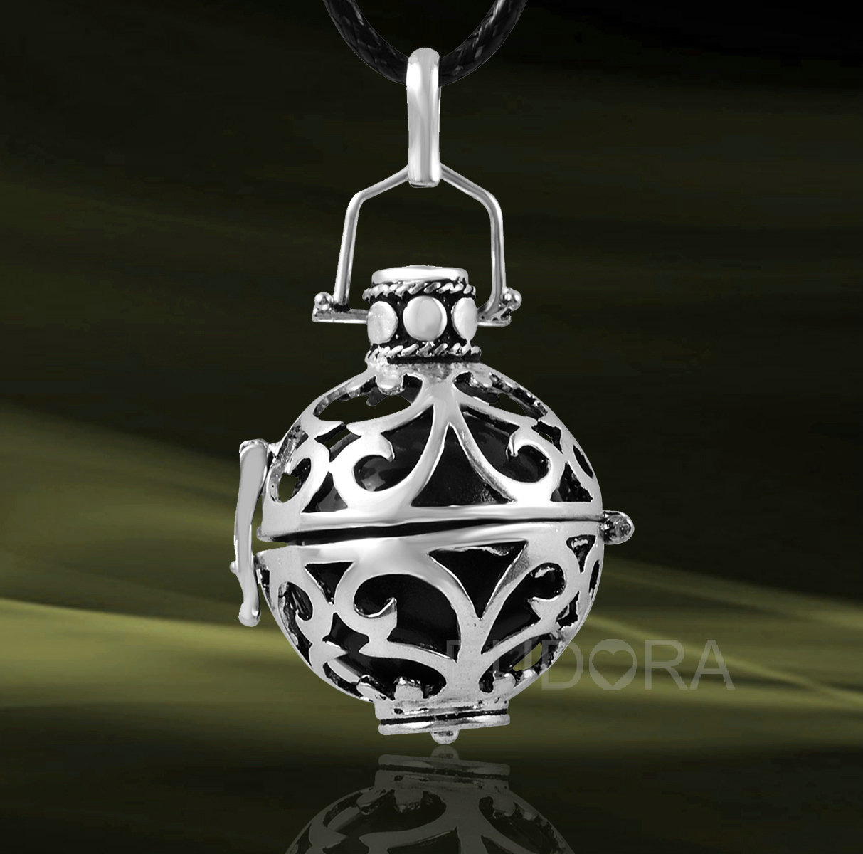 bola grossesse cage argent mexicain cadeau femme enceinte collier bola h02a08 ebay. Black Bedroom Furniture Sets. Home Design Ideas