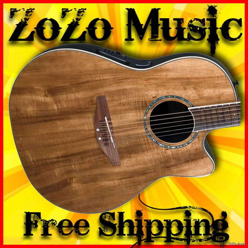 Ovation cc24 fkoa celebrity mid depth acoustic electric