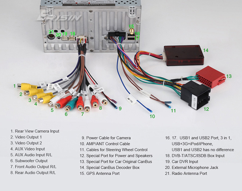 Chinese Head Unit Wiring Diagram
