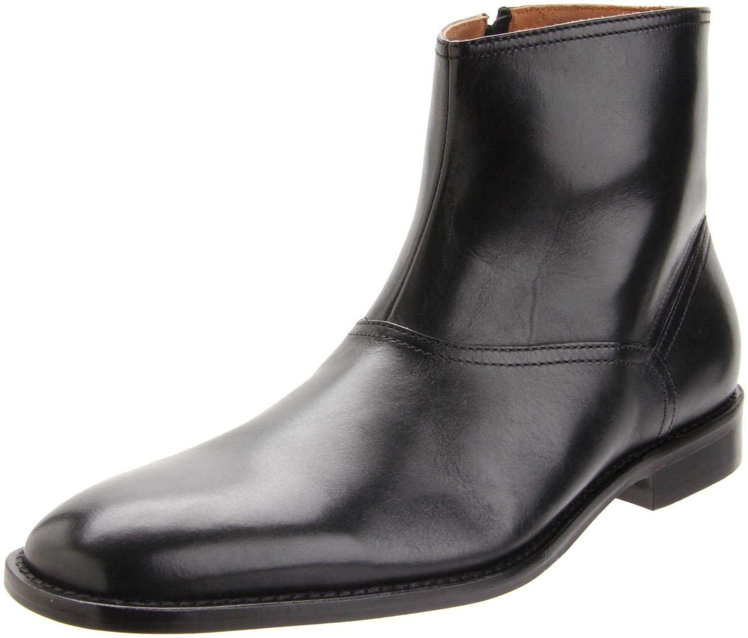 Johnston Murphy Knowland Boot 20 6565 Men Black Leather Retail $195