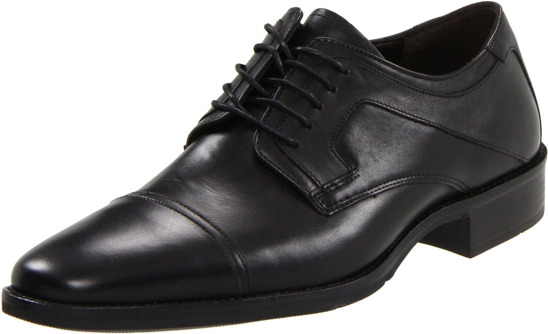johnston murphy larsey captoe 20 1277 black leather