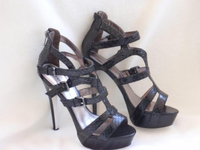 BEBE-SHOES-PLATFORM-heels-Elyse-BLACK-5-7-8-9-10