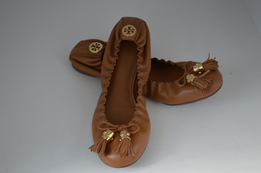 Image is loading TORY-BURCH-SHOES-BALLETT-FLATS-039-Reese-039-