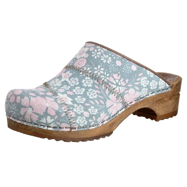 Sanita-Olivia-Wood-Clogs-in-Rose-Leather-Factory-2nd