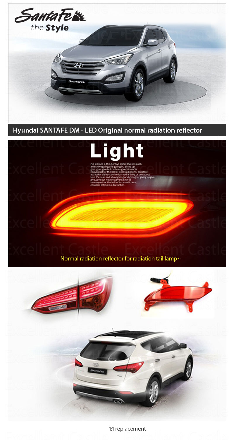 Led Tail Light Tail Lamp Diffusion Light Type For 2013