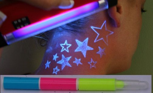 invisible ink tattoo. Our INVISIBLE INK marker PENS