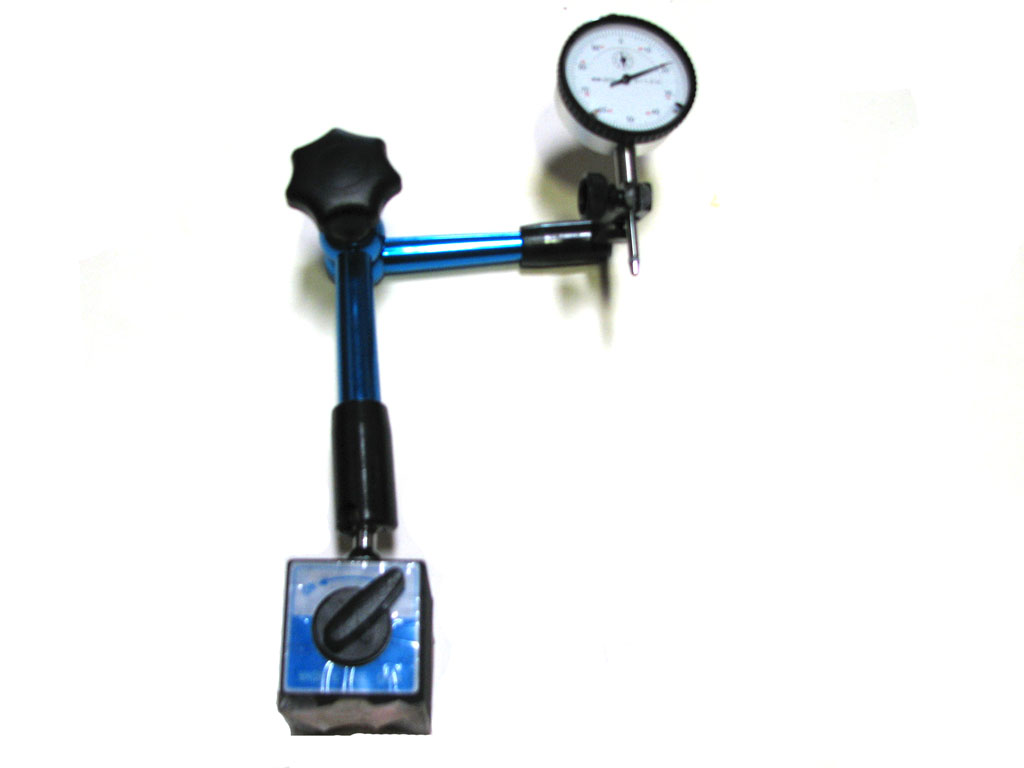 Magnetic Angle Indicator : Hydraulic magnetic holder blue with quot dial indicator ebay
