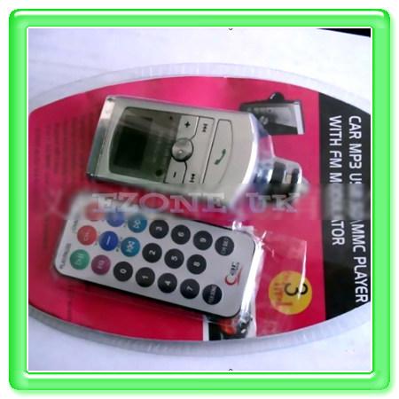 Car Radio Stereo Audio  Player Fm transmitter ACC