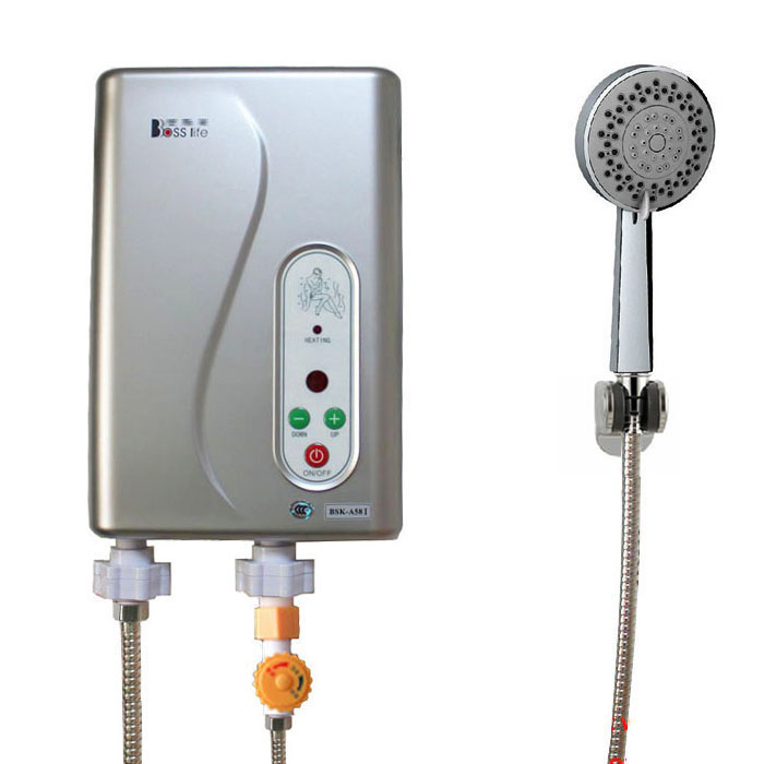 Electric Tankless Water Heater Shower : Instant electric hot water heater shower kits d ebay