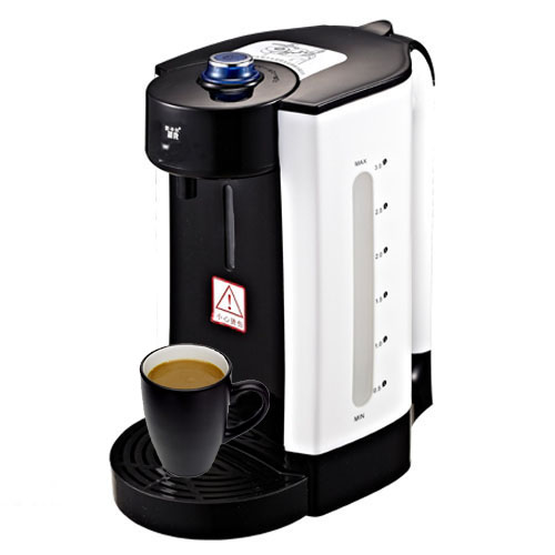 Panasonic boiling water purification coffee maker fully automatic type black