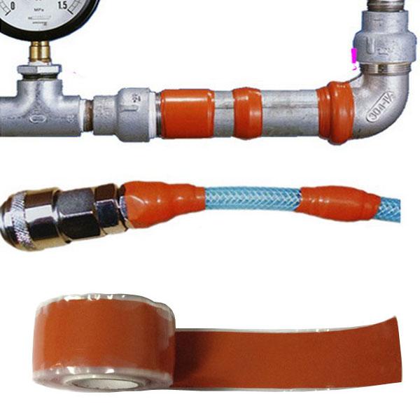 Wire Wrap Leak : M silicone performance rescue tape self fusing bonding