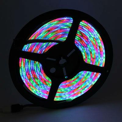 10X-Waterproof-5M-RGB-SMD-3528-300-LED-Strip-light-IR-remote-controller-DT65