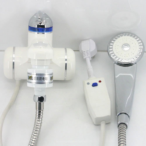 Image Is Loading Instant Electric Water Heater Tap Shower Head T75A
