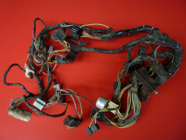 1971 Mustang Fastback Grande Wiring Harness No Tach Dash