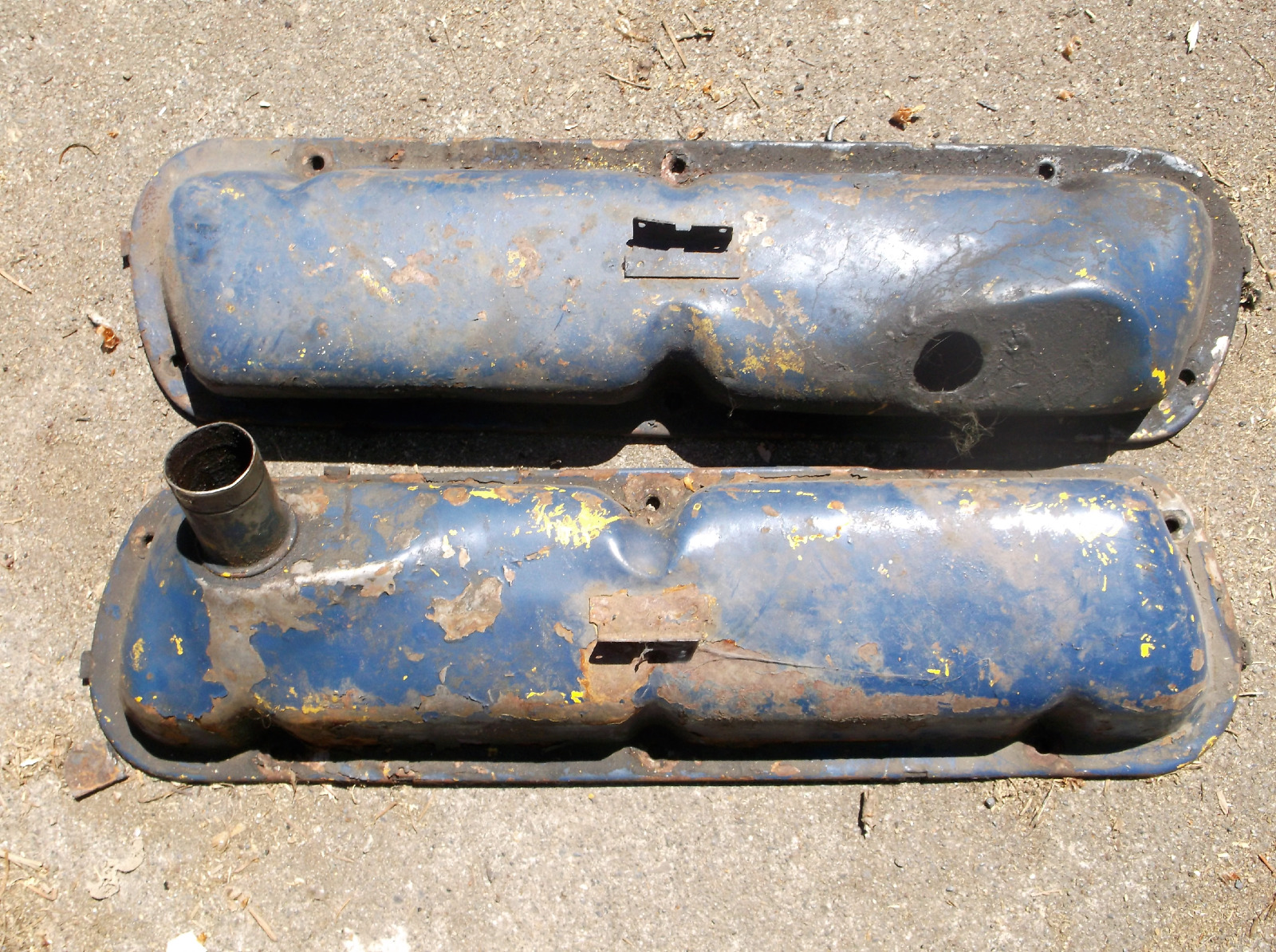 1963 ford galaxie parts ebay - 1965 1966 Mustang 289 V8 Valve Covers Cover Original A C Code Challenger Special Fits Ford Fairlane
