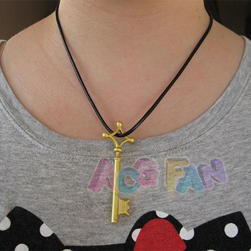 titan shingeki no kyojin snk eren basement key golden color necklace s