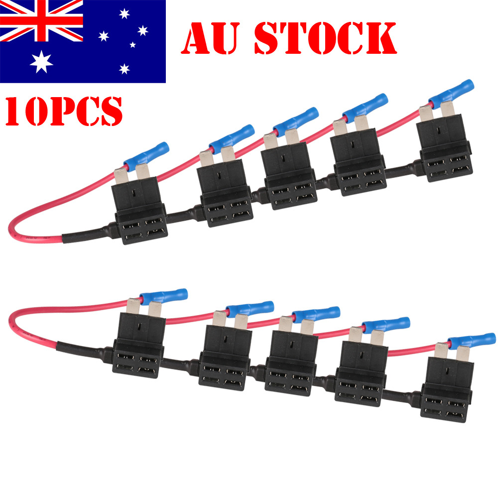 Fine 5 Way Import Switch Wiring Small Hh 5 Way Switch Wiring Regular Car Alarm Installation Wiring Diagram Wiring Diagram For Gas Furnace Youthful 5 Way Switch Diagram BrownIbanez Srx Bass 10PCS Add Circuit ACU Piggy Back Tap Standard Blade Fuse Holder ..