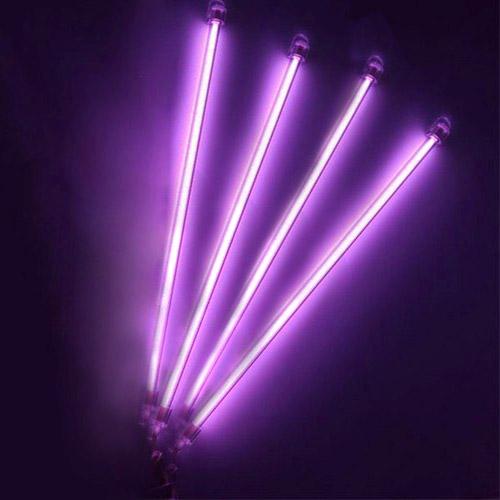 Under Car Auto Underbody 4 Piece Neon Kit Lights Purple Undercar Light 12 Ebay