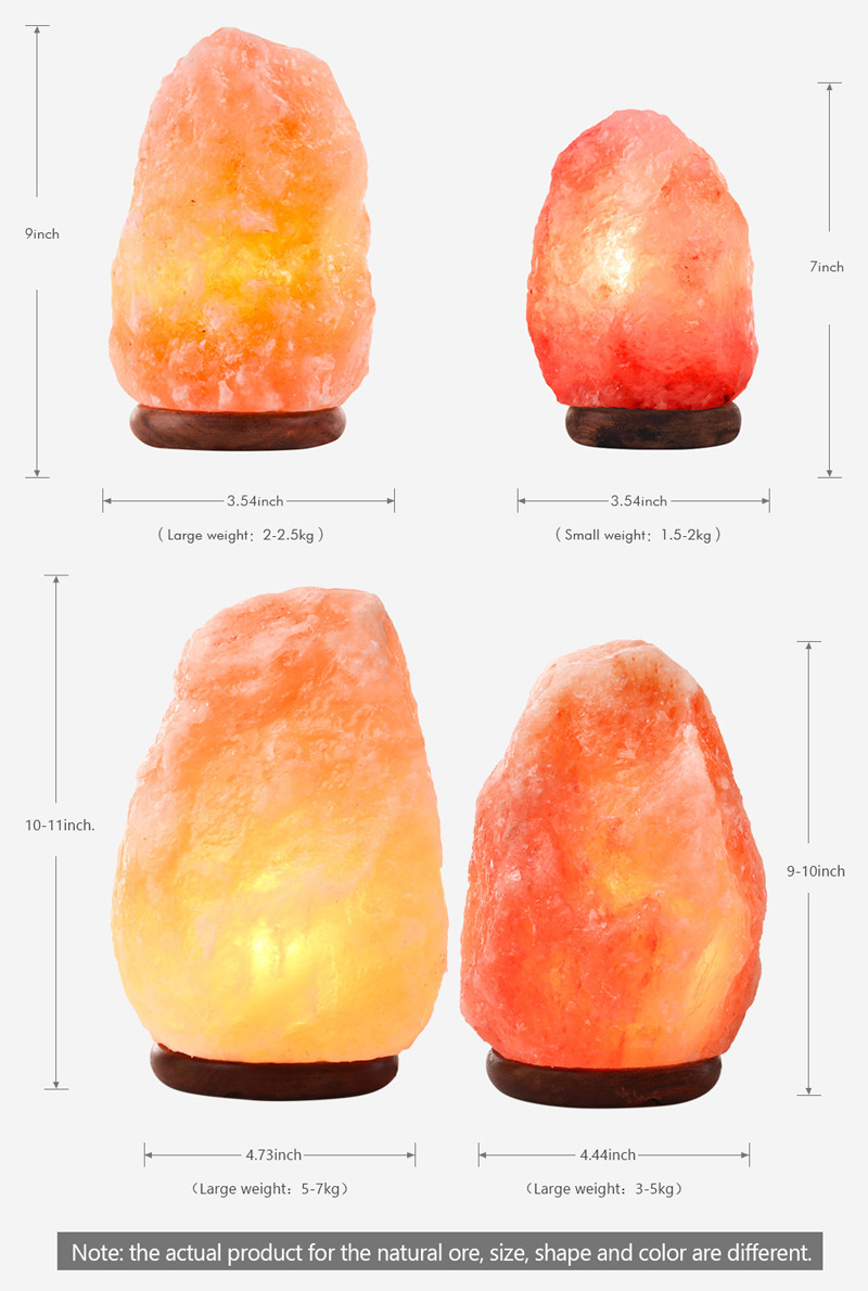 Salt Lamps Maitland Nsw : Himalayan Salt Lamp Natural Crystal Rock Shape Dimmer Switch Night Light AU NSW eBay